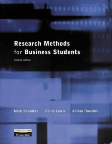 9780273639770: Research Methods for Business Students