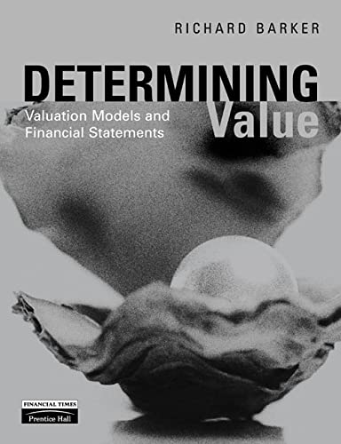 9780273639794: Determining Value: Valuation Models and Financial Statements