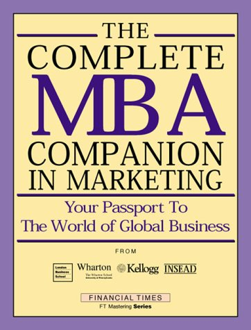 9780273642237: Complete MBA Companion in Marketing