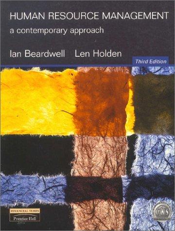 9780273643166: Human Resource Management: A Contemporary Approach