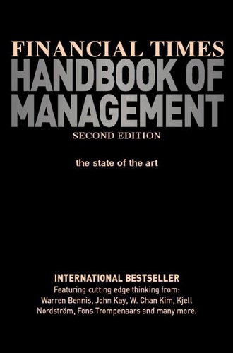 9780273643500: Financial Times Handbook of Management (2nd Edition)