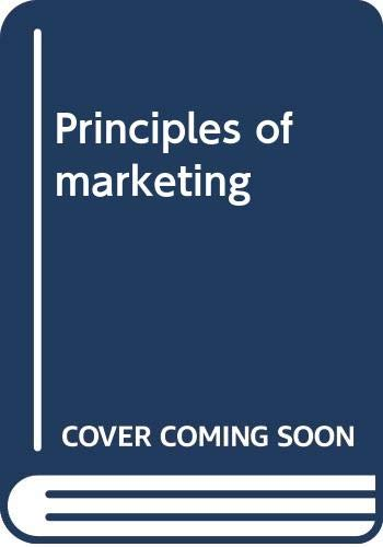 9780273644453: Principles of Marketing