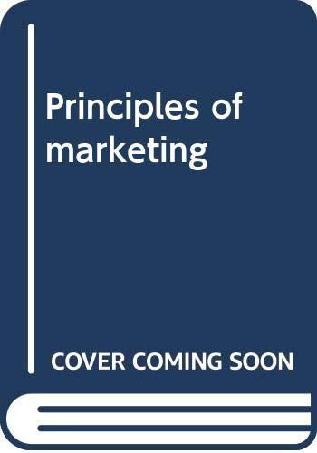 9780273644453: Principles of Marketing