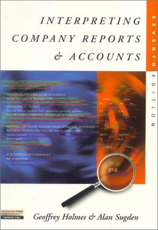 9780273646150: Interpreting Company Reports and Accounts