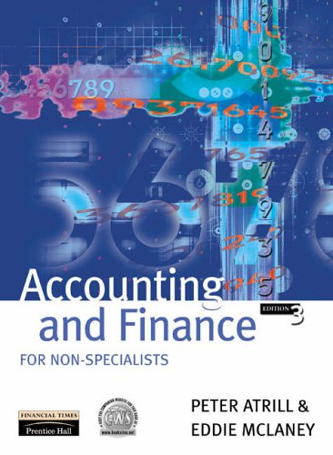 Accounting finance non specialists by peter atrill abebooks accounting and finance for non specialists peter atrill eddie fandeluxe Choice Image