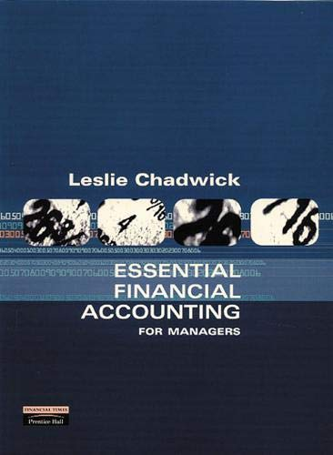 Essential Financial Accounting : for Managers