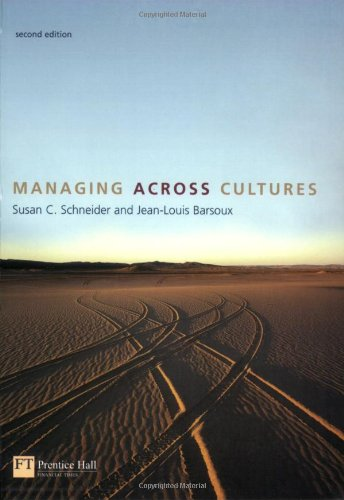 Managing Across Cultures: Susan C. Schneider;