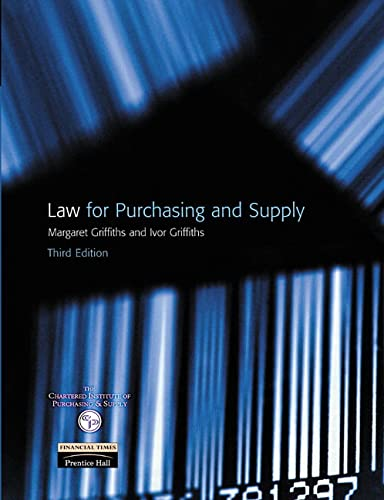 9780273646792: Law for Purchasing and Supply