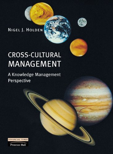 9780273646808: Cross-Cultural Management: A Knowledge Management Perspective