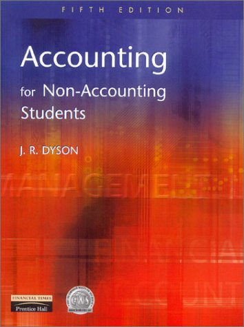 9780273646839: Accounting for Non-Accounting Students