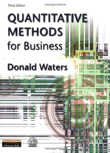 9780273646945: Quantitative Methods for Business