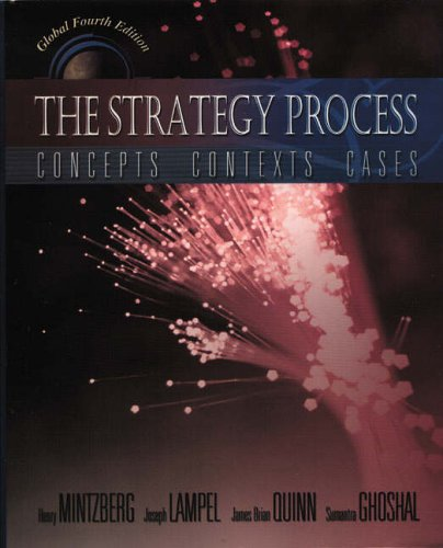 9780273651208: The Strategy Process: Global Edition: Concepts, Contexts, Cases