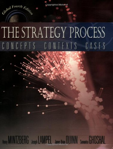 9780273651208: The Strategy Process: Concepts, Contexts, Cases : Global