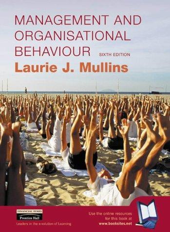 9780273651475: Management and Organisational Behaviour