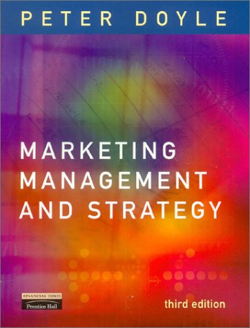 9780273651505: Marketing Management and Strategy