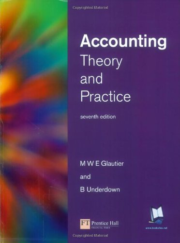 9780273651611: Accounting Theory and Practice