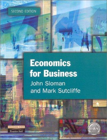 9780273651871: Economics for Business