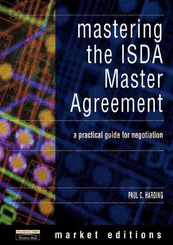 Paul Harding Mastering Isda Master Agreements Abebooks