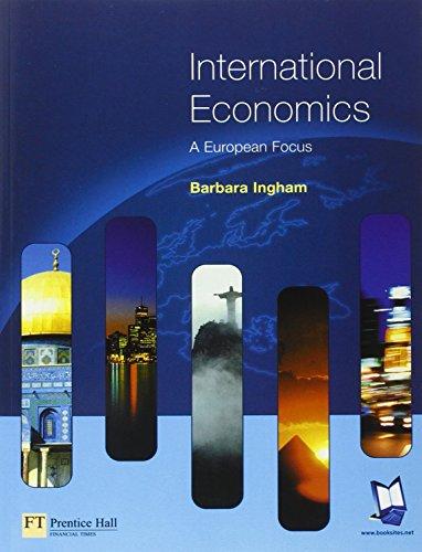 9780273655077: International Economics