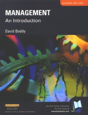 9780273655183: Management: An Introduction