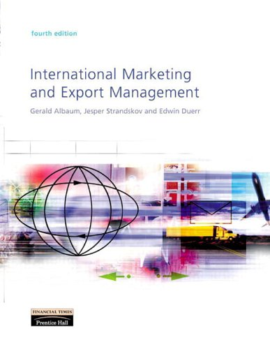 9780273655213: International Marketing and Export Management (4th Edition)