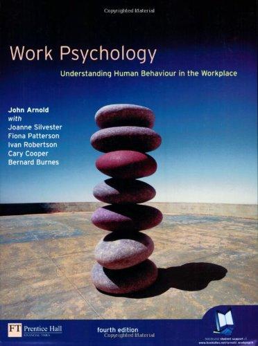 9780273655442: Work Psychology: Understanding Human Behaviour in the Workplace