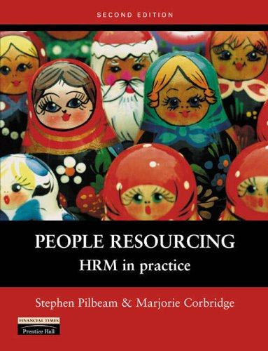 9780273655800: People Resourcing: HRM in Practice