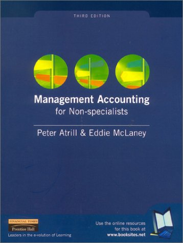 9780273655916: Management Accounting for Non-specialists, 3rd Ed.
