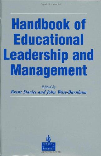 9780273656685: Handbook Of Educational Leadership & Management