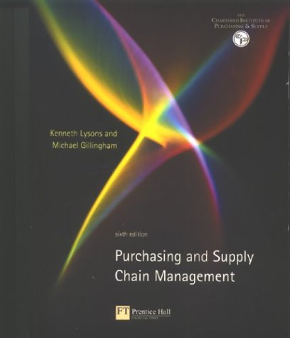 9780273657644: Purchasing and Supply Chain Management
