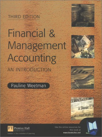 9780273657880: Financial and Management Accounting: An Introduction