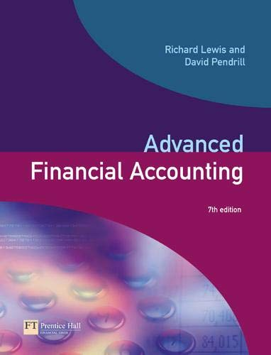 9780273658498: Advanced Financial Accounting (7th Edition)
