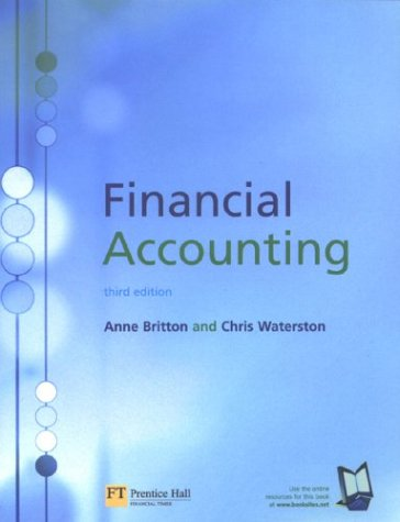 Financial Accounting (MTBE): Anne Britton; Christopher