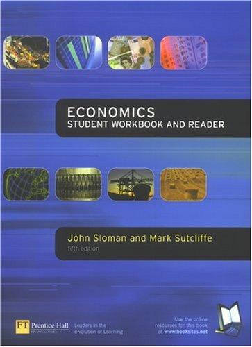 9780273658641: Economics: Student Workbook & Reader