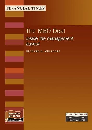 Mbo Deal: Inside the Management Buyout (Executive: Westcott, Richard H.