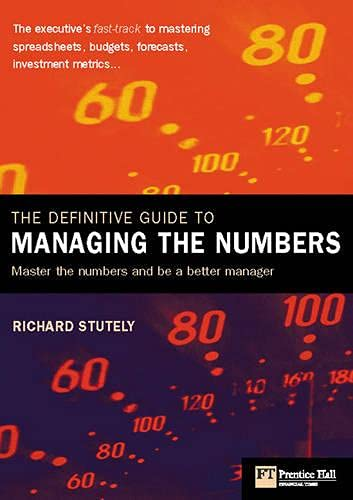 9780273661030: The Definitive Guide to Managing the Numbers