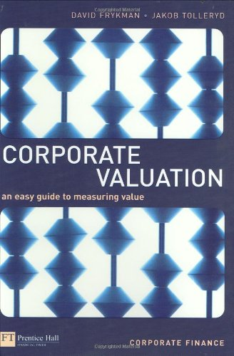 9780273661610: Corporate Valuation: an easy guide to measuring value