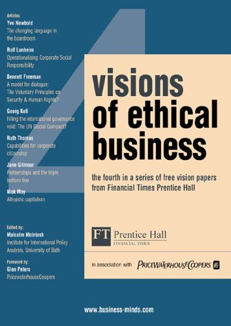 9780273661917: Visions of Ethical Business 4