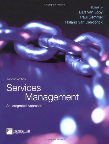 9780273673538: Services Management: An Integrated Approach