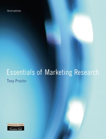 9780273674009: Essentials of Marketing Research