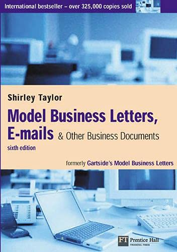 9780273675242: Model Business Letters, E-Mails, & Other Business Documents