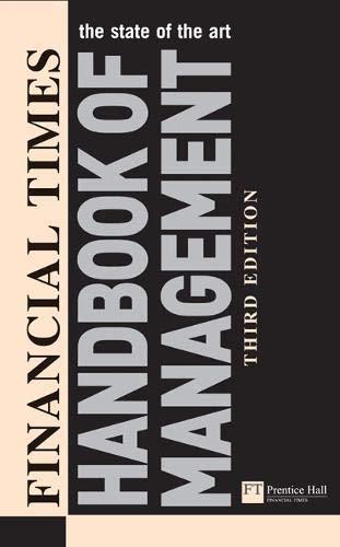 Financial Times Handbook of Management (Paperback): Stuart Crainer, Des Dearlove