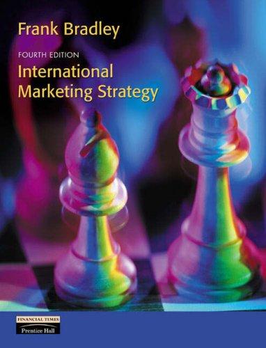 9780273676133: International Marketing Strategy
