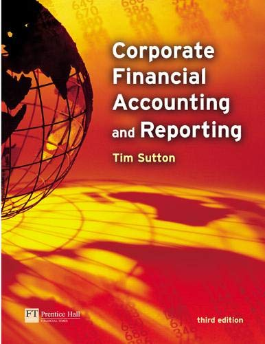 9780273676201: Corporate Financial Accounting & Reporting