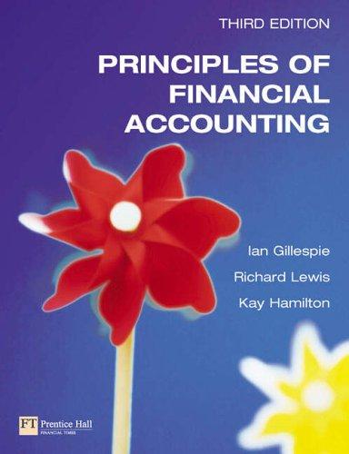 9780273676300: Principles of Financial Accounting