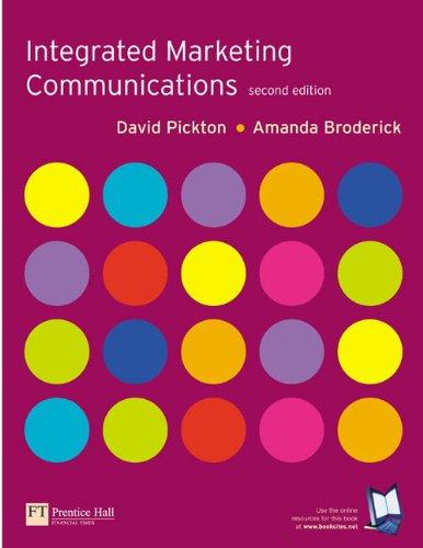 9780273676454: Integrated Marketing Communications