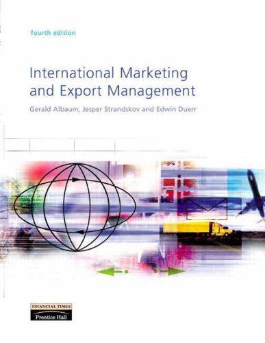 9780273676874: International Marketing and Export Management