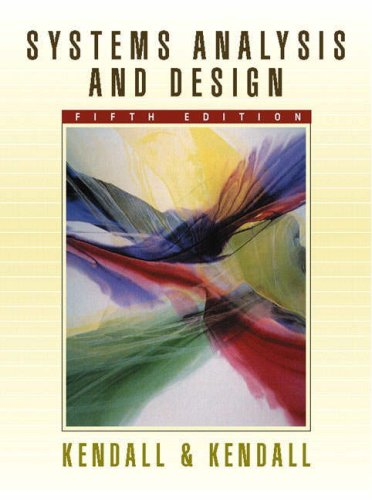 Systems Analysis and Design with Pin Card (9780273677673) by Kendall