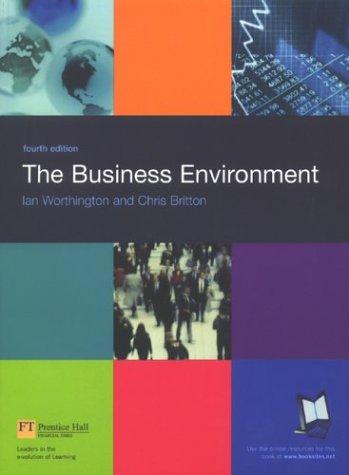 9780273678274: Business Environment