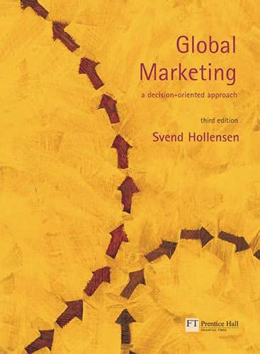 9780273678397: Global Marketing: A decision-oriented approach (3rd Edition)